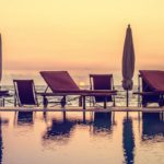 piscine coucher soleil hotel arc en ciel dzamandzar nosy be