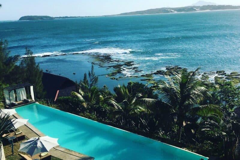 piscine mer talinjoo hotel tolanaro fort dauphin
