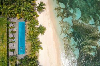 piscine plage princesse bora lodge spa sainte marie