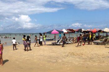piscine vue mer manda beach hotel foulpointe tamatave