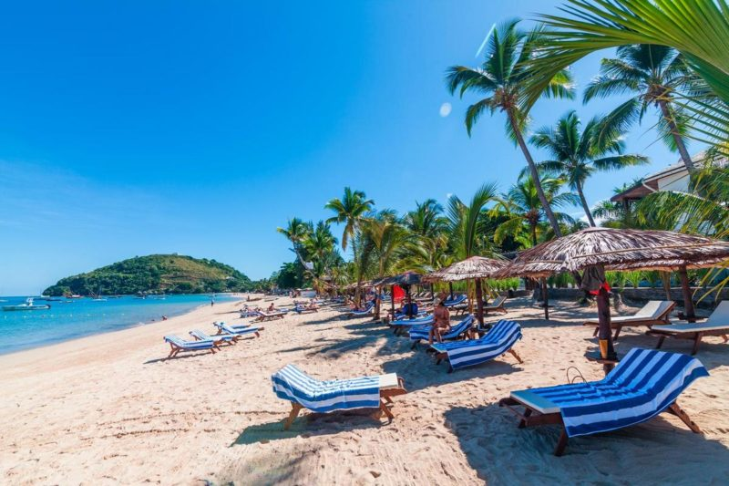 plage royal beach hotel et spa nosy be