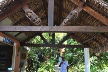 reception exterieur hotel tropicana majunga