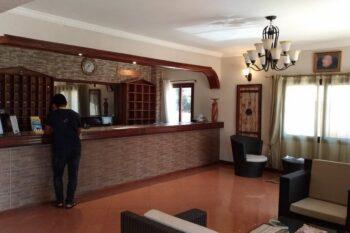 reception hotel le royal palace antsirabe