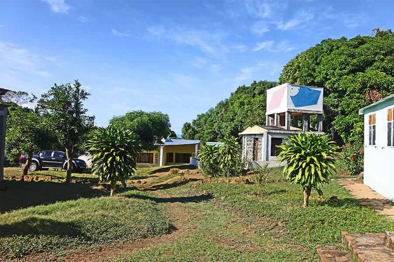 Rezydencja dobrej studni w Nosy Be - Madagaskar