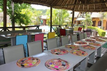 restaurant grace lodge andasibe