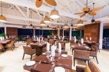 restaurant royal beach hotel et spa nosy be