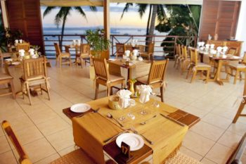 restaurant vue mer royal beach hotel et spa