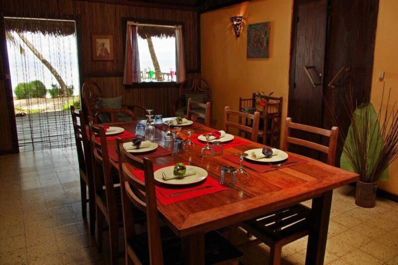 salle amanger villas de vohilava sainte marie