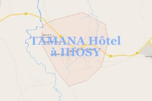 Tamana hotel à Ranohira - Madagascar