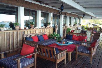 terrasse restaurant residence eden ecolodge saint augustin tulear