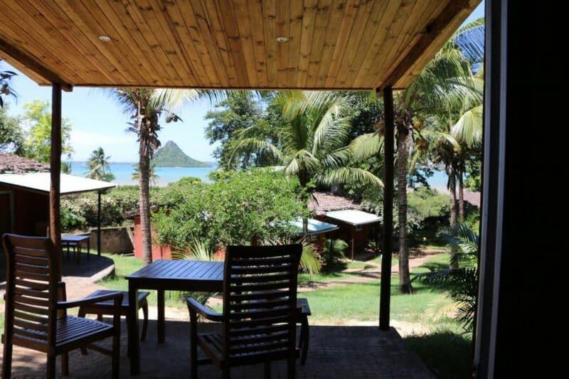 terrasse vue baie hotel de la baie antsiranana diego suarez