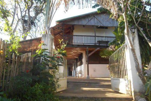 Villa antsoha à Nosy Be - Madagascar