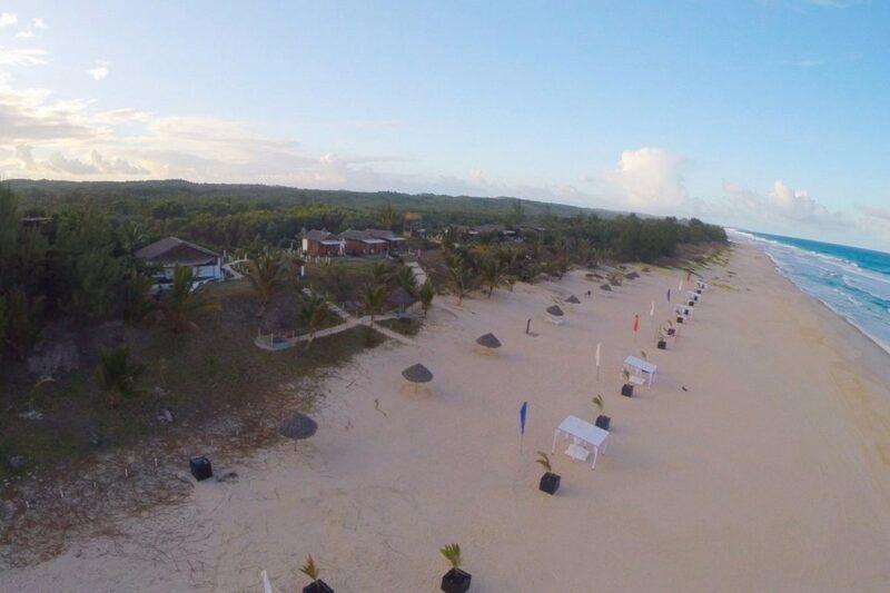 vue aérienne riake resort villa sainte marie