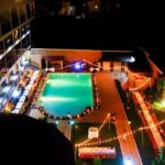 vue nuit hotel le royal palace antsirabe