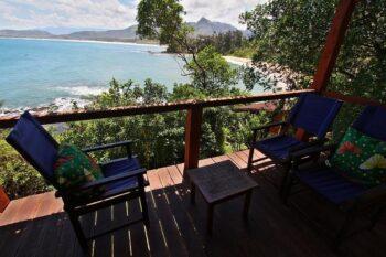 vue terrasse hotel lavasoa libanona tolanaro fort dauphin