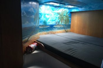 chambre Cama à nosy be