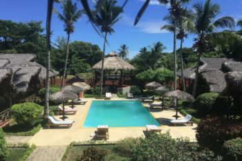 piscine Cocotier Lodge nosy be