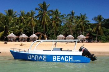 la plage Danae Beach nosy be