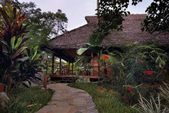 jardin de Domaine de Tahina nosy komba