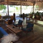 le salon de la reception de Domaine de Tahina nosy komba