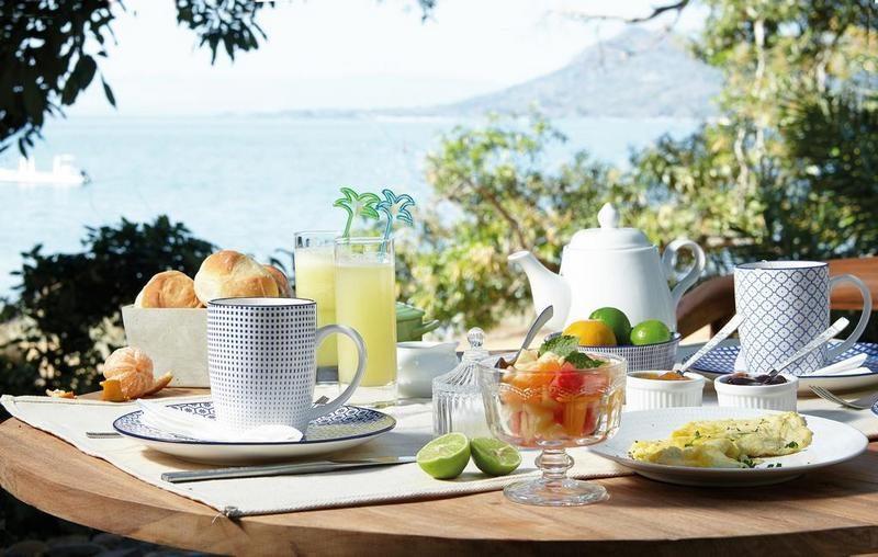 petit déjeuner Domaine de Tahina nosy komba