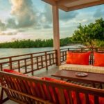 terrace Emeraude Lodge nosy be