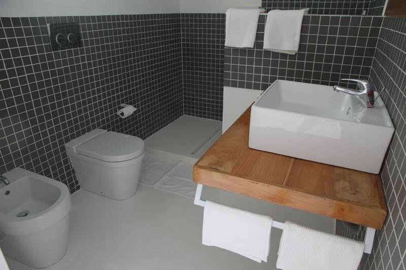 salle de bain Etoile Blanche nosy be