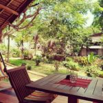 outdoor terrace garden view Ilo Village nosy komba
