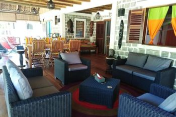 shared lounge Ilo Village nosy komba