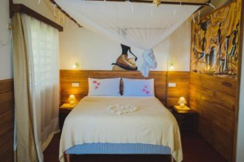 bedroom villa Madirokely House in Nosy be
