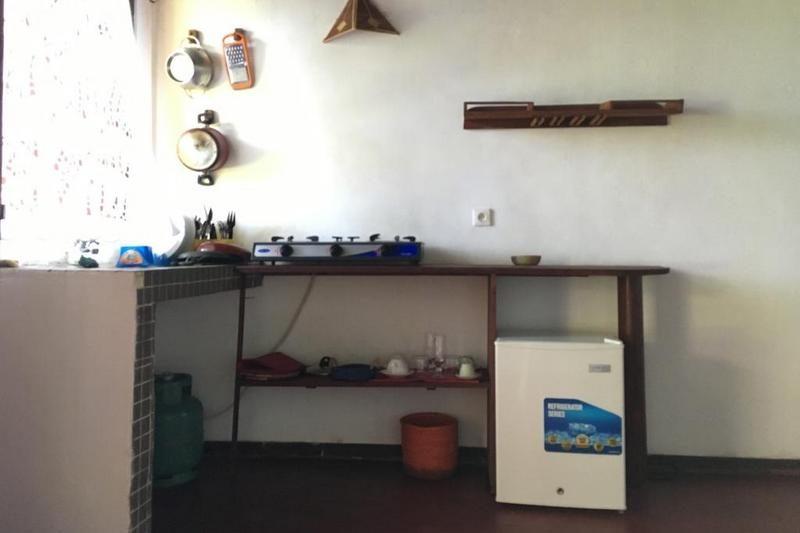 the kitchen Vanio Lodge nosy be