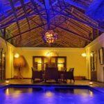 dining area Villa Mandresy nosy be