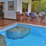 living area Villa Mandresy nosy be