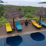 basen i leżaki Villa Nosy Relaks wścibski