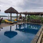 pool, sea view Villa Nosy Relax nosy be