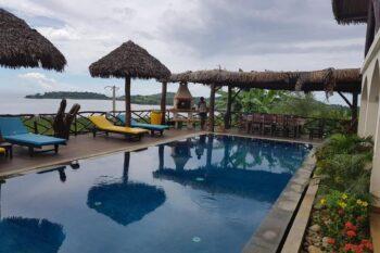 piscine, vue sur mer Villa Nosy Détente nosy be