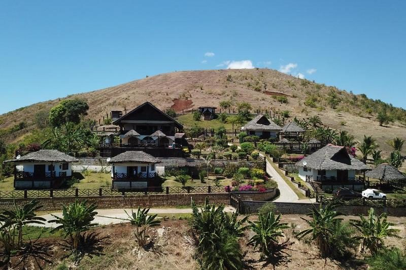 the accommodations of Villa Nosy Détente in nosy be