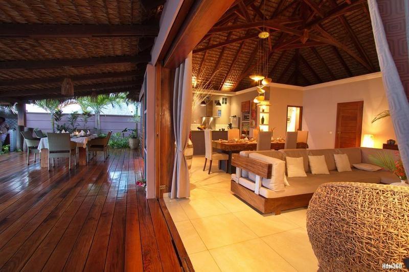 shared lounge Villa Sakina in nosy be