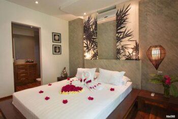bedroom Villa Sakina in nosy be