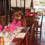 tropical bungalows restaurant in nosy be