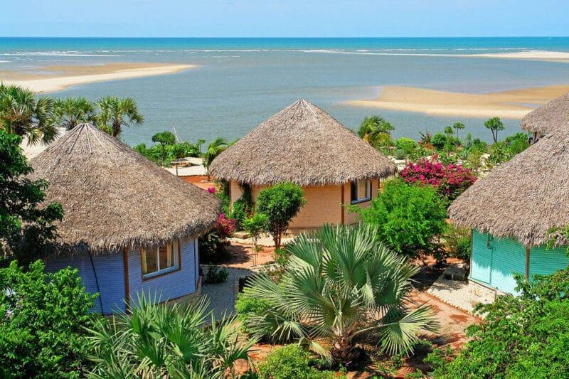 bungalow vue mer antsanitia resort majunga