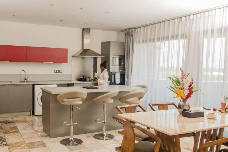 kitchenette the streamline hotel apartment tamatave