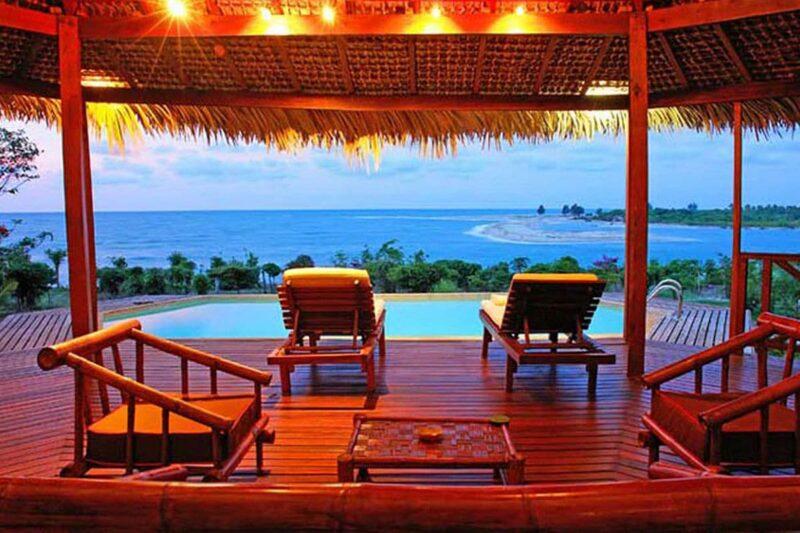 piscine privee antsanitia resort majunga