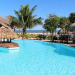 vue piscine antsanitia resort majunga