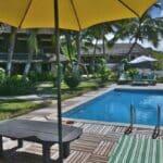 vue piscine ylang hotel ambondrona nosy be