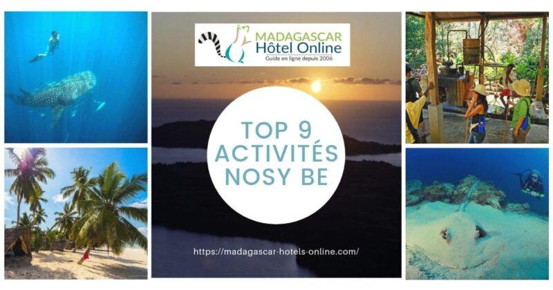 Top 9 activities nosy be