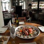 Frutti di mare serviti sul tavolo del ristorante L'Arrivage di Antananarivo