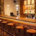 Bar du restaurant Urban Hotel à Antananarivo