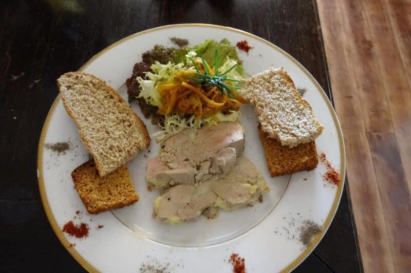Piatti del ristorante Lokanga ad Antananarivo