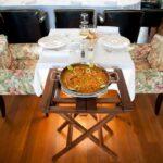 Plat de Paella au restaurant Grand Hotel Urban à Antananarivo